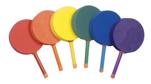 - Champion Sports 7-inch Racquetball Foam Paddle (Set of 6)