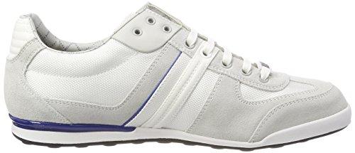 Zapatillas Blanco Open para Athleisure Akeen BOSS White Hombre 118 zqU1Zgw