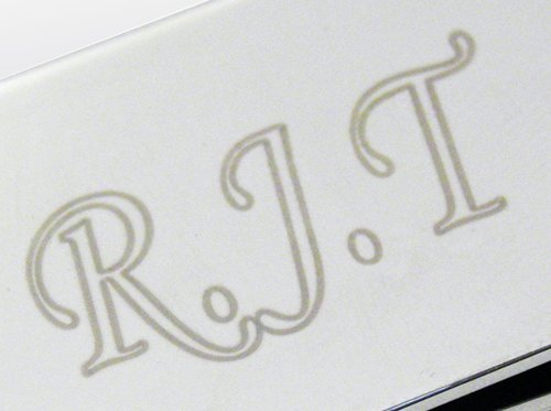 Personalized Engraved Silver Plated Money Clip,Free Engraving-Shipped From England