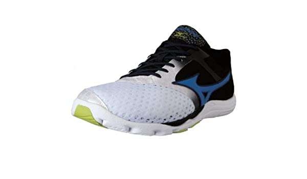 Mizuno Zapatillas Minimalistas Wave EVO Cursoris Blanco/Azul/Antracita EU 44.5 (UK 10): Amazon.es: Zapatos y complementos
