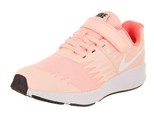 Nike Girl's Star Runner (PSV) Pre-School Shoe Crimson Tint/White/Crimson Pulse/Black Size 1.5 M US by Nike (Image #1)
