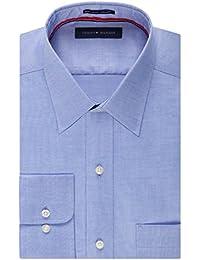 Men's Non Iron Regular Fit Point Collar Dress Shirt