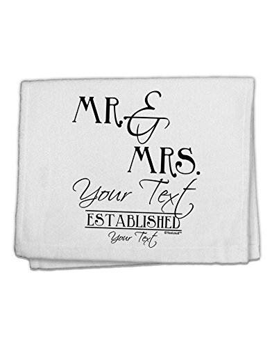 TOOLOUD Personalized Mr and Mrs -Name- Established -Date- Design 11