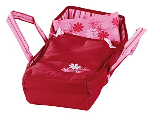 ft Portable Carry Bed with Handles for Baby Dolls up to 16.5
