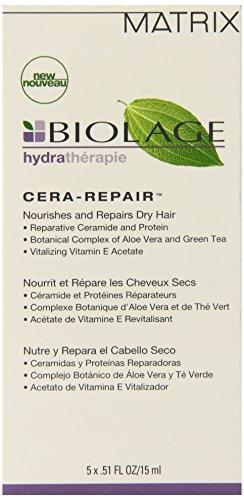 Biolage Hydra Cera Repair Nourishes And Repairs Dry Hair 5 x .51 (Cera Repair Treatment)