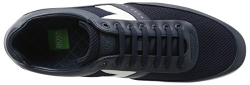 BOSS Green Men's Space_Lowp_syme 10195467 01 Low-Top Sneakers Blue (Dark Blue) Rwt4UikBP