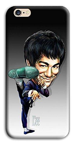 Mixroom - Cover Custodia Case In TPU Silicone Morbida Per Apple Iphone 5c Z434 Bruce Lee Kung Fu