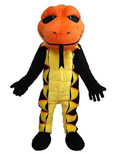 Snake Mascot Costume Team Mascots Sports Mascot Outfits Custom Made Mascot for Advertising -