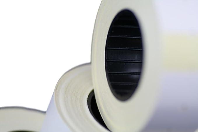 10 rollos) Blanco 21 x 12 mm Papel de color Adhesivo Precio Pistola Etiquetas de marcador de precio MX-5500: Amazon.es: Hogar
