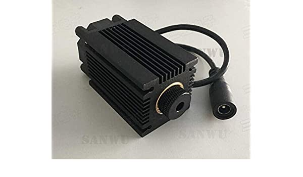 Blue 445nm 2.5W Laser Module with Heatsink for DIY Laser Engraver Machine