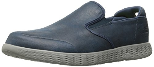 Skechers Performance Mens On-The-Go Glide-Surpass Walking Shoe Navy/Gray