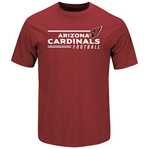 Scrimmage T-shirt - Arizona Cardinals Line of Scrimmage Red T-shirt Large