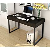 "Soges Computer Desk 47"" PC Desk Office Desk with Drawer Workstation for Home Office Use Writing Table,Black 858-BCA-N"