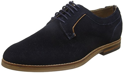 Hudson Albany Suede - Zapatos Hombre azul (marino)