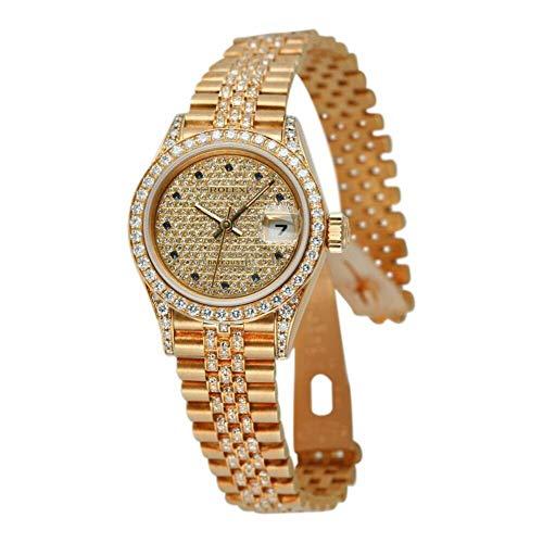 Rolex Datejust Automatic-self-Wind Female Watch 69158 (Certified Pre-Owned) (Rolex Datejust Sapphire)