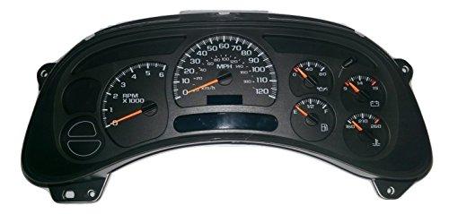 Chevy Silverado Tahoe GMC Sierra Gauge Cluster Speedometer 15135668