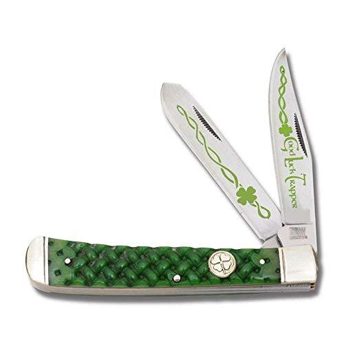 Celtic Irish Folding Pocket Knife Jigged Bone Handle Boxed + 5% Q-Pro store discount coupon
