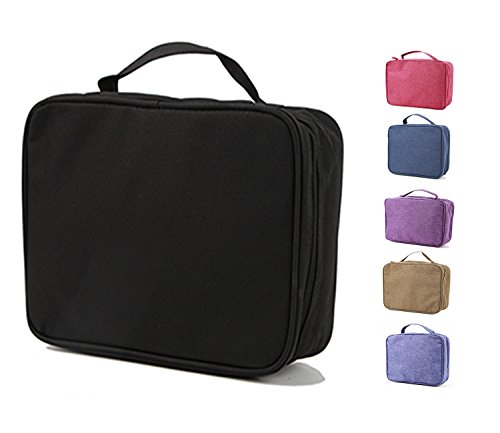 purifyou Classic Insulated Lunch Box - Compact, Easy Wash, Smooth Zipper & Lightweight - Tote Bag & Container, Lunch Bag for Men, Women, Kids, Boys, Girls, Adults (Gentlemen or Boys, Black) (Compact Kit)