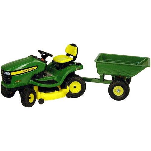 Amazon.com: John Deere 1/16 Escala x324 Lawn Tractor con ...