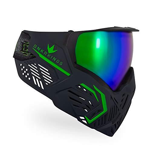 Bunker Kings CMD Paintball Goggle/Mask - Black Acid ()