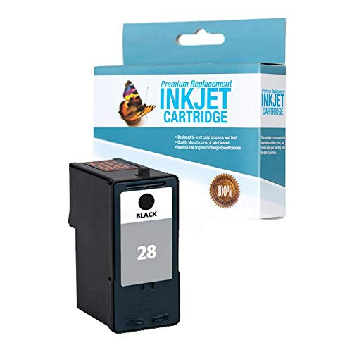 SuppliesOutlet Compatible Ink Cartridge Replacement for Lexmark 18C1428 (Black,1 Pack)