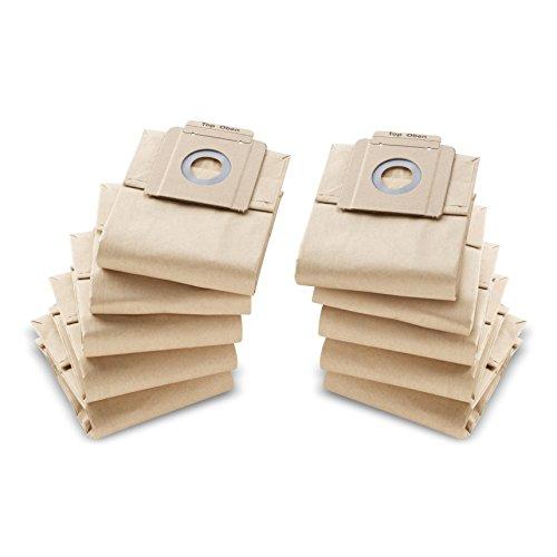 Kärcher 6.904-333.0 Aspirateur cylindre Sac à poussière Accessoire et fourniture pour aspirateur - Accessoires et fournitures pour aspirateur (Aspirateur réservoir cylindrique, Sac à poussière, Sable, Papier, T 7/1 u