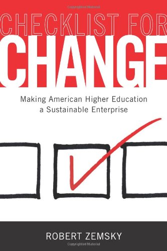 Checklist for Change: Making American Higher Education a Sustainable Enterprise