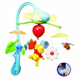Winnie The Pooh Deluxe Remote Control Dream Clouds Cot Mobile