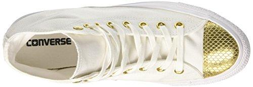 Sneaker Gold Hi Donna Bianco Alto Converse White White Collo Ctas a anHE6R6z