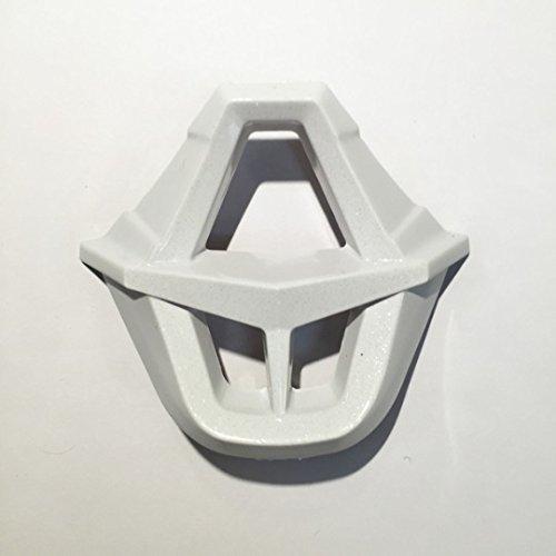 Helmet Replacement Mouthpiece (Fox Racing V1 Helmet Mouthpiece - White)