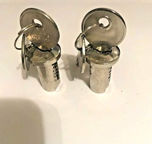 Locks & Keys x 2 for Gumball Machine Candy Vending Machine Acorn Northwestern Oak Eagle fits Most Gumball/Candy Machines
