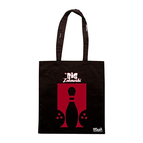Borsa Big Lebowski Bowling - Nera - Film by Mush Dress Your Style