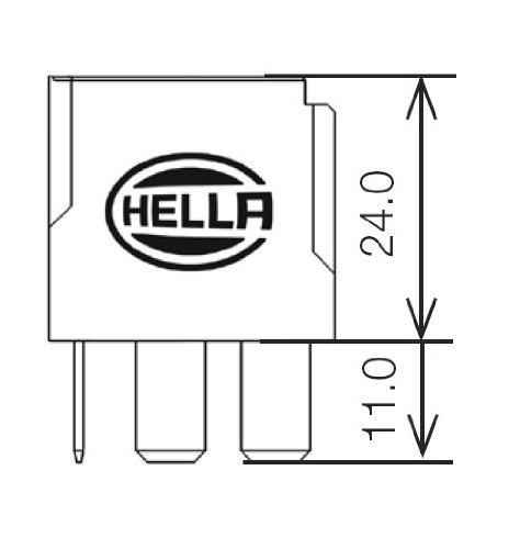 HELLA 931680011 12V 20/40 Amp SPDT/Form C (Sealed)