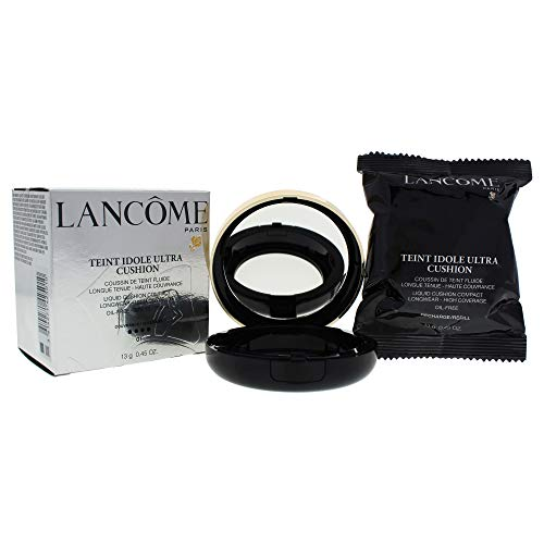 Lancome Teint Idole Ultra Cushion Liquid Cushion Compact SPF 50, No. 01 Pure Porcelaine, 0.45 - Foundation Liquid Lancome