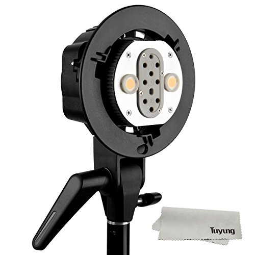 Godox AD200 AD-B2 Bowens Mount Double Tubes Light Head Bracket for AD200 Dual Power Flash Portable Flash Ahieve 400W Power Output by Godox