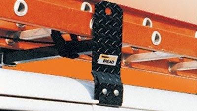 Gutter Tread Cross Mount (Cross Tread 88002 Steel Black Gutter Mount Van Rack (800Lbs))