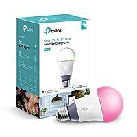 Bombilla de luz inteligente Kasa, Multicolor por TP-Link - Bombillas WiFi, Funciona con Alexa y Google (LB130) Versión anterior