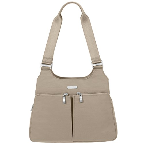 Zippered Beach Pockets Satchel Removable and RFID Wristlet Baggallini Roomy Bag �C Lightweight Exterior Purse and Interior with 0wHqF
