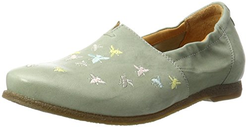 Think Shua, Espadrillas Basse Donna Turchese (Mint/Kombi 57)