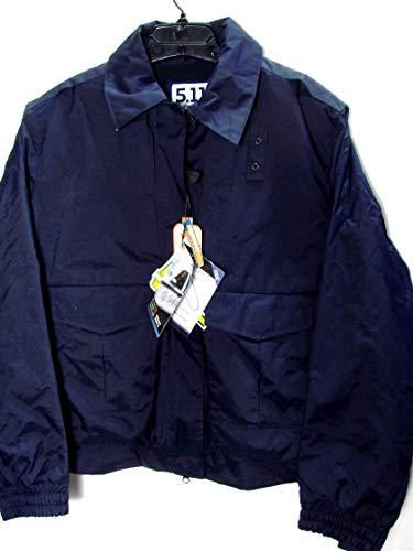 5.11 Women's Tactical Lined Duty Waterproof Jacket Free ANSI Traffic Vest 38040 XL Dark Navy
