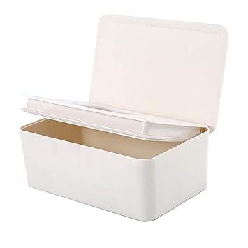 LIPAI Tissue-Box Kunststoff wasserdichte Multifunktions-Aufbewahrungsbox