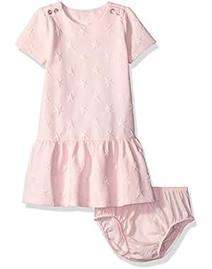 Baby Girls' Pink Star Dress
