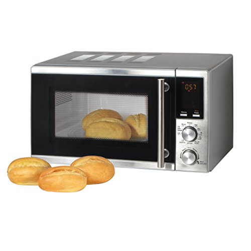 TZS First Austria - 20 Liter Mikrowelle mit Grill-Funktion, Pizza und Kaffee-Programm 1200 Watt Microwelle / 8 Automatik-Programme / Microwave