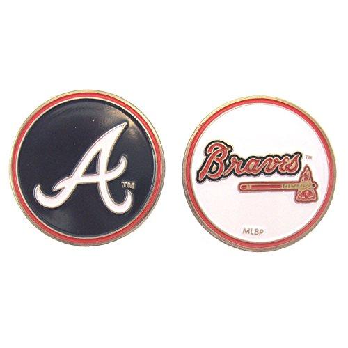 Atlanta Braves Golf Ball Marker (2-Sided)