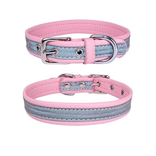 Hpapadks High-Grade Super-Fiber Reflective Pet Collar Reflective Microfiber Dog Puppy Pet Collars Dog Stuff for Sale -