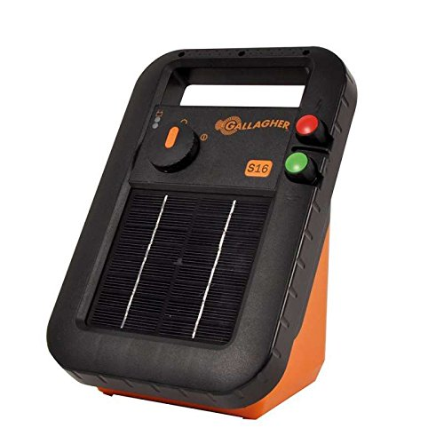 Gallagher S16 Solar Energiser with Battery