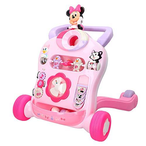 Disney- Correpasillos andador interactivo, Mickey (Colorbaby 46346)
