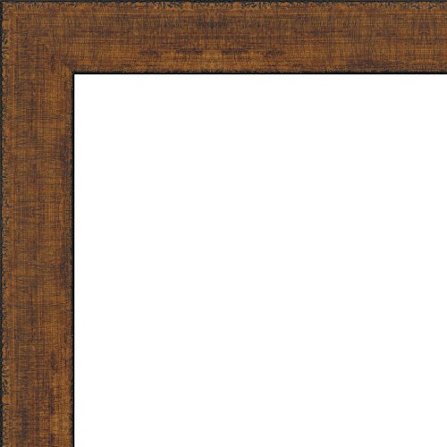 30x40 - 30 x 40 Rustica Antique Brown Solid Wood Frame wi...