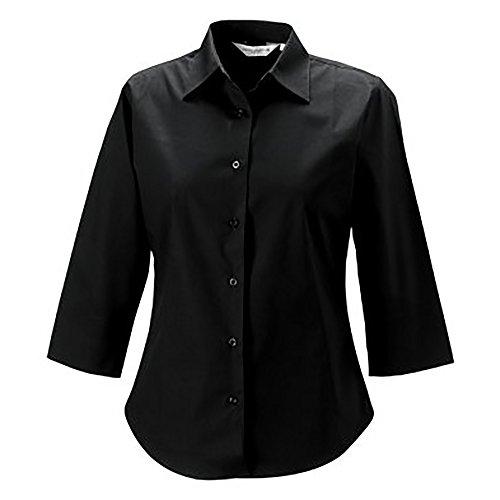 ミシンオリエンテーションとして(ラッセル) Russell レディース イージーケア 七分袖 ワイシャツ ブラウス トップス 女性用