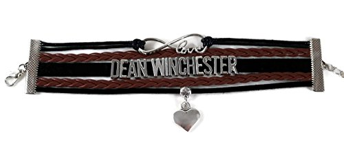 Show & Shine Supernatural Infinity Love Dean Winchester Multi Strands Layer Charm Bracelet by Show & Shine (Image #4)